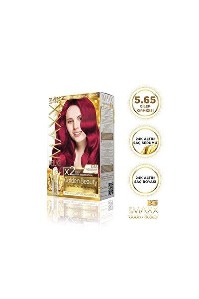 Golden Beauty 5.65 Çilek Kırmızısı Set Boya