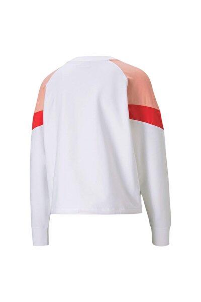 Iconic Mcs Kadın Beyaz Sweatshirt (599654-26)