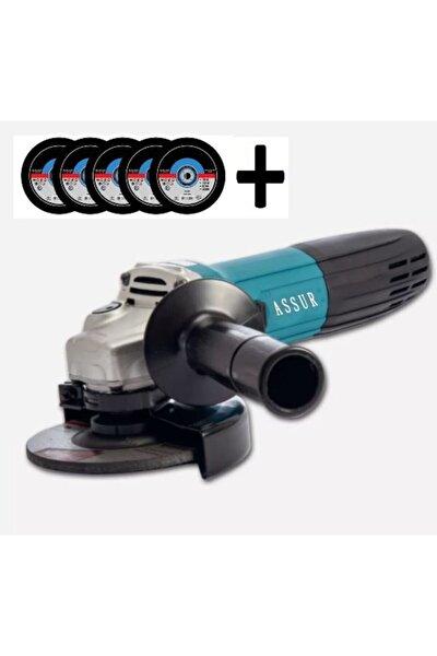 Professionel 125mm 2600w Sq-line Avuç Içi Taşlama Spiral 5 Adet Inoks