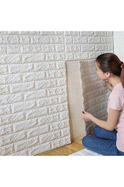 Kendinden Yapışkanlı Beyaz Duvar Paneli 3d Duvar Kağıdı