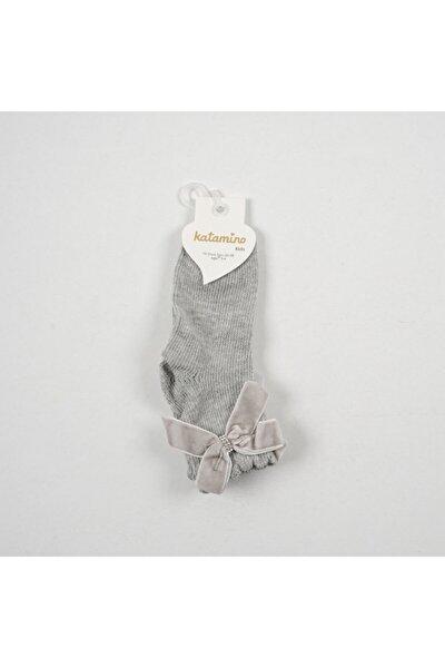 Selay Aksesuarlı Kız Çocuk File Soket Çorap