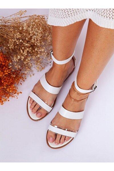 Sandalet - Beyaz - Ayakkabı Havuzu