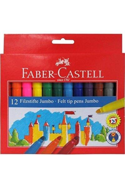Faber 12 Renk Jumbo Keçeli Kalem 554312
