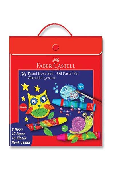 Faber-Castell Pastel Boya 36'lı  Karışık Set