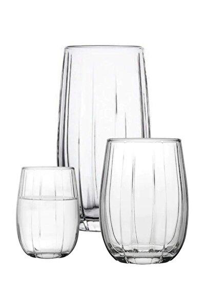 Linka 18 Parça Su Meşrubat Kahve Yanı Bardağı Takımı Seti Han-krp-420405-420415-420212