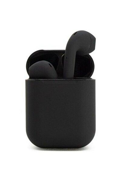 Airpods 2. Nesil i12 Pro Siyah Bluetooth Kulaklık Muhteşem Ses Performansı
