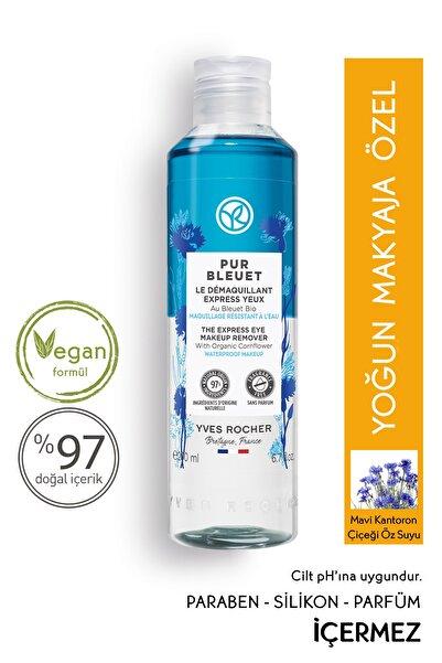 Pur Bleuet - Suya Dayanıklı Yoğun Makyaja Özel Ekspress Göz Makyaj Temizleyici - 200 ml