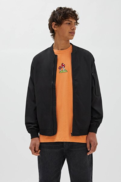 Fermuarlı Bomber Ceket