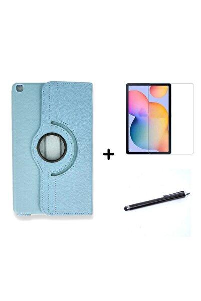 Galaxy Tab A7 Lite Sm-t225 Dönebilen Tablet Kılıfı+ekran Koruyucu+kalem Seti