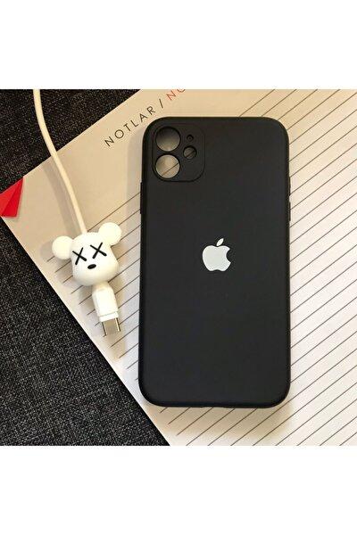 Iphone 11 Kamera Korumalı Model, Logolu Lansman Kılıf Kablo Koruyucu