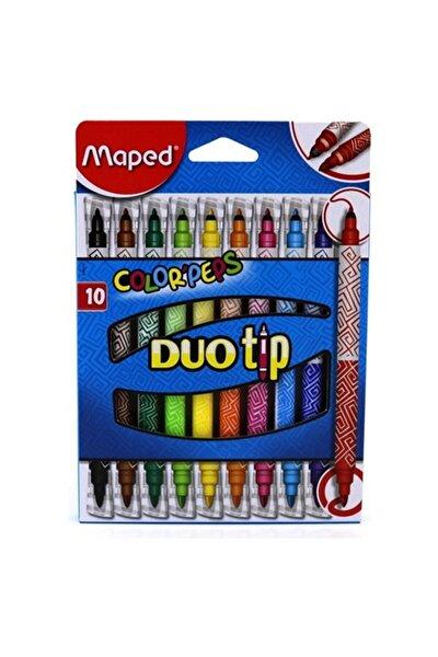 849010 Color Peps Duo 10 Renk Keçeli Kalem