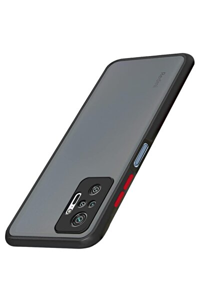 Xiaomi Redmi Note 10 Pro Kılıf - Loo Case Mat 3d Kamera Korumalı