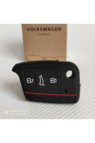 Volkswagen, Skoda, Seat Anahtar Kılıfı Silikon ()