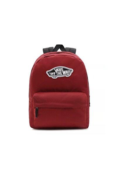 Wm Realm Backpack Sırt Çantası Vn0a3uı6zbs1 Bordo