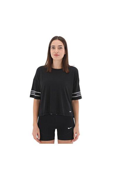 Kadın Siyah T-shirt - Tw Np Top Ss Grx Pro Kadın T-shirt - Cj4031 010