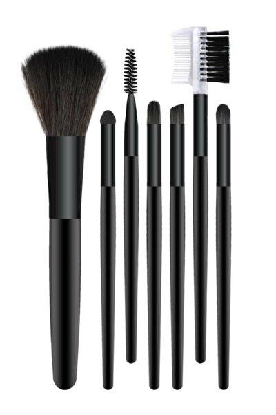Arya 7'li Makyaj Fırça Seti Siyah Renk