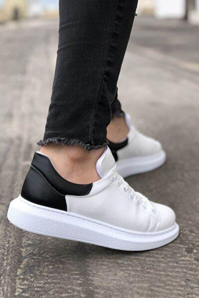 Ch256 Bt Erkek Ayakkabı Beyaz/siyah