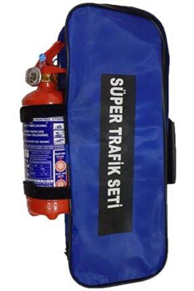 Trafik Seti Çantalı Lüx Set Yangın Söndürücülü
