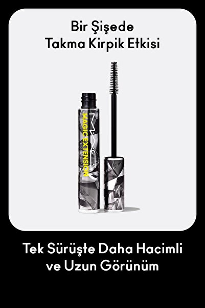 Magic Extension Maskara Extensive Black 773602621187