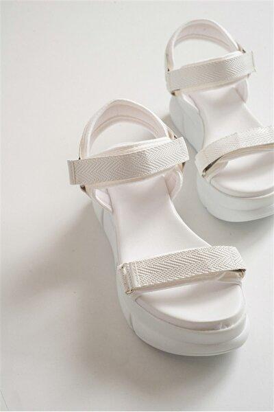Kadın Beyaz Sandalet 4760