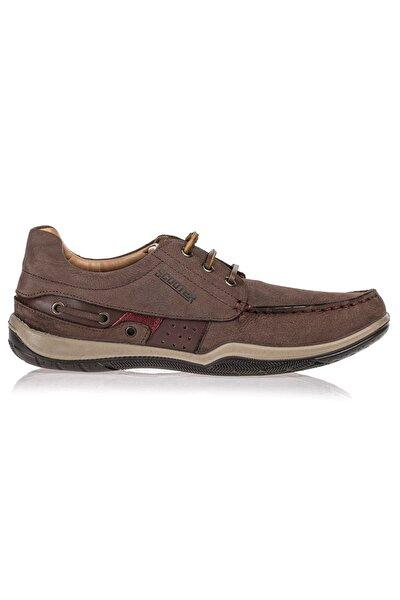 Deri Kahve Erkek Ayakkabı M2020NKA