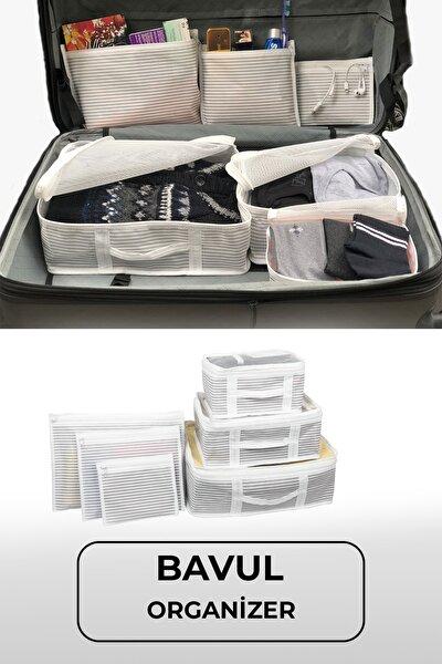 6'lı Bavul Valiz Düzenleyici Set
