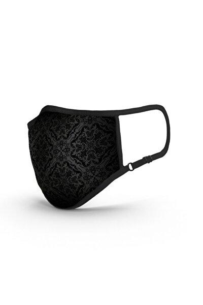 Sign Of Black TSE Belgeli-Ruco-Bac Antibakteriyel Sertifikalı-Sınırsız Yıkanabilir Kumaş Maske