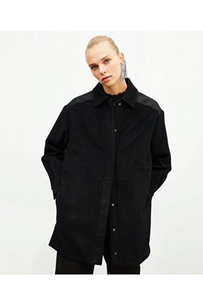 Deri Mixli Ceket