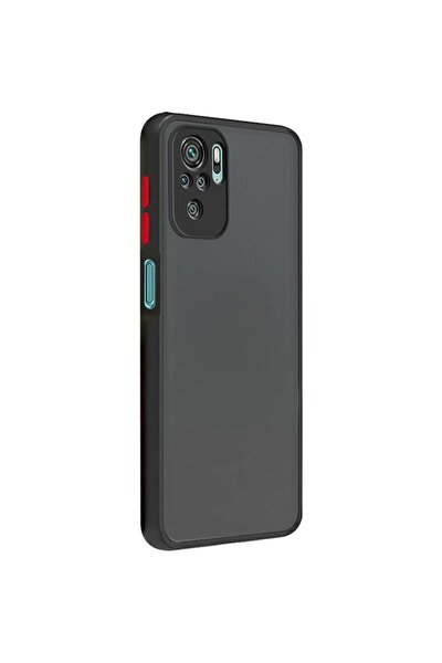 Xiaomi Redmi Note 10 Kılıf - Loo Case Mat 3d Kamera Koruma Kılıf