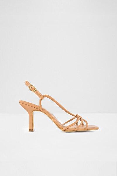 Rımını-tr - Bej Kadın Yüksek Topuklu Sandalet