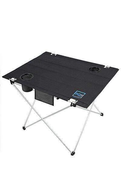 Bardak Gözlü, Omuz Askılı, Katlanabilir Kamp Ve Piknik Masası 73x55x48 Cm