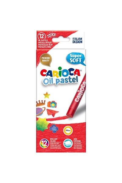 Yağlı Pastel Boya Kalemi 12li