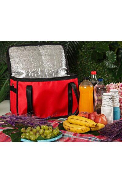 Sıcak Soğuk Tutucu Çanta Termal Kamp Piknik Plajda Paket Servis Çantası 30 Litre