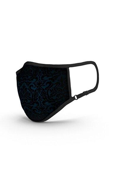 Sign Of Navy TSE Belgeli-Ruco-Bac Antibakteriyel Sertifikalı-Sınırsız Yıkanabilir Kumaş Maske