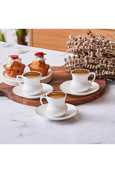 Lilyum 6 Kişilik Kahve Fincan Takımı