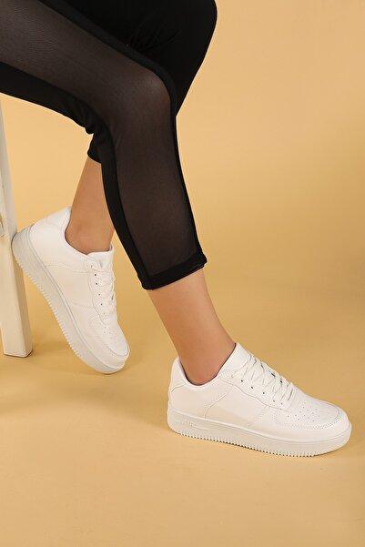 Kadın Beyaz Günlük Spor Ayakkabı Nprs 75 Air
