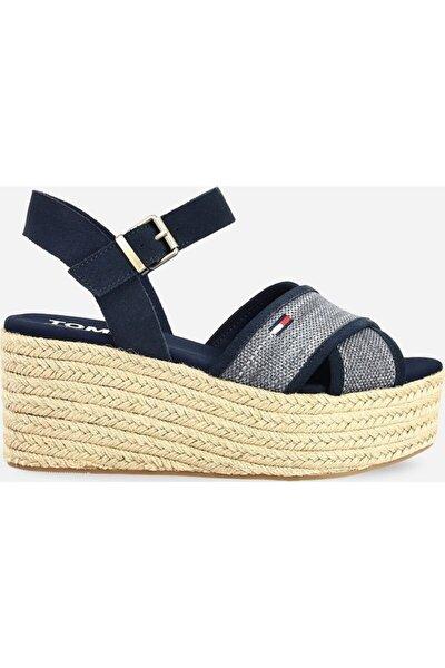 Kadın Lacivert Dolgu Topuk Sandalet En0en00910-c87