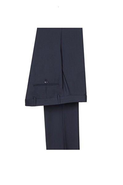 Erkek Koyu Lacivert Klasik Pantolon