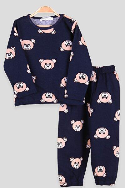 Ayıcık Desenli Pijama Takımı