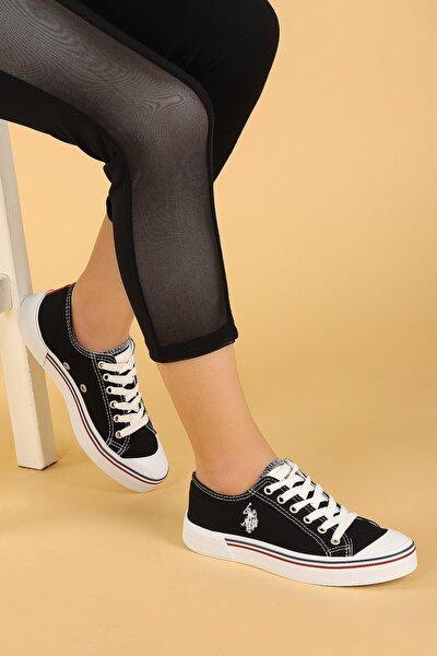 Kadın Siyah Penelope Günlük Yürüyüş Spor Ayakkabı