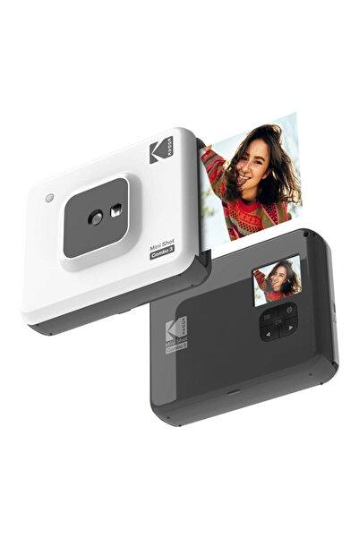 Mini Shot Combo 3 - Anında Baskı Dijital Fotoğraf Makinesi - Beyaz