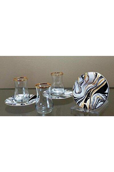 Homechic Carat Çay Seti 6 Kişilik Marble 2