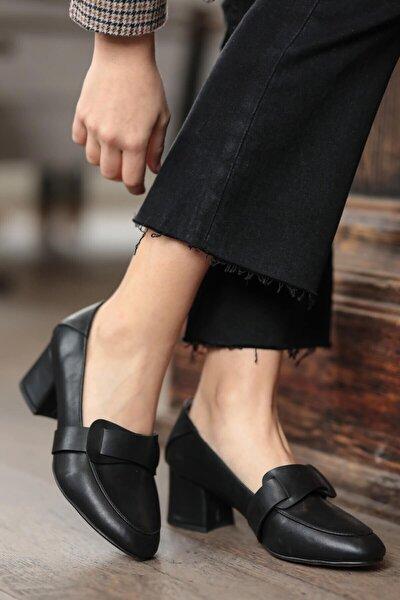 Romy Siyah Topuklu Ayakkabı