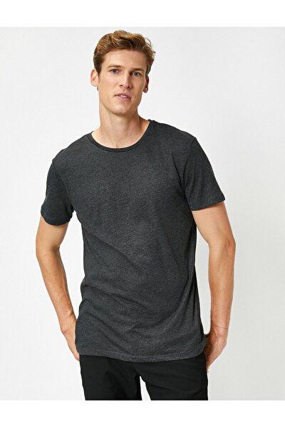 Erkek Antrasit T-Shirt 1KAM12136LK