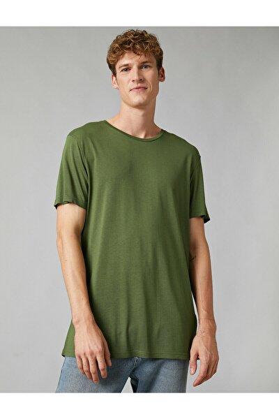 Erkek Haki T-Shirt 1KAM12268LK