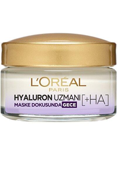 L'oréal Paris Hyaluron Uzmanı Cilt Dolgunlaştıran Nemlendirici Krem Gece