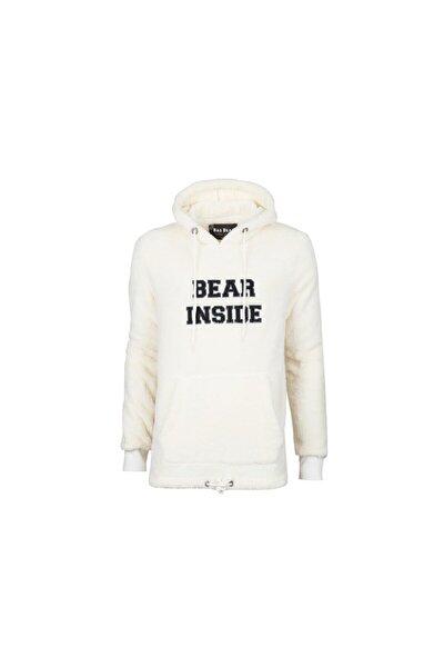Bear Plush Erkek Beyaz Sweatshirt  200221006-wht