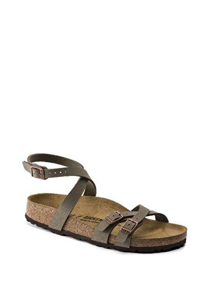 Blanca Bf Nubuck Stone Sandalet