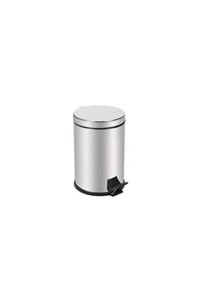 3 litre Paslanmaz Pedallı Çöp Kovası