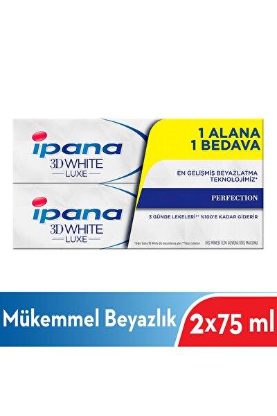 Diş Macunu Luxe Perfection 75 ml 1 + 1 Paket 8564132136584